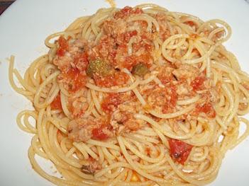 The Real Spaghetti Al Tonno (tuna Spaghetti)