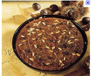 Chestnut Pie: Another All Natural, Healthy, Sugarless, Yeast-free Dessert