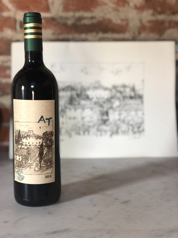 AT private label Sangiovese wine