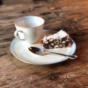dish, cup, cake